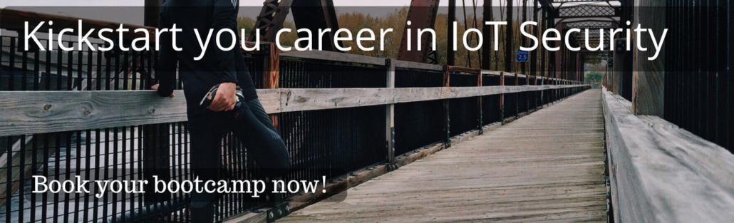 Starten Sie Ihre Karriere bei IoT Security. Buchen Sie jetzt ein Bootcamp!