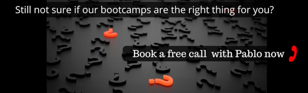 Book a free call with the trainer
